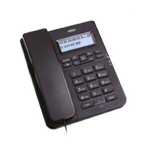 karel tm145 siyah masaüstü telefon